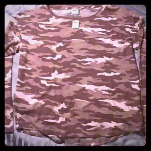 Pink Victoria's Secret Long Sleeve Shirt!! NWT
